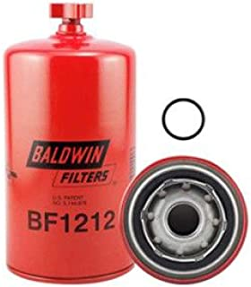 Baldwin BF1212 Heavy Duty Diesel Fuel Spin-On Filter, Red