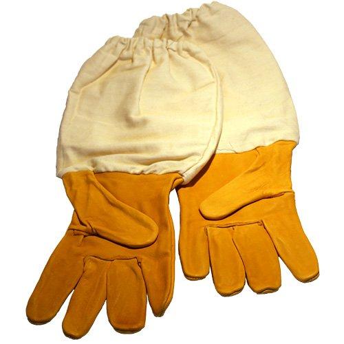 Germerott Bienentechnik GmbH Imkerschutz-Handschuhe mit qualitativ hochwertiger Verarbeitung und sehr guter Passform zum sicheren Arbeiten an den Bienen in der Größe 10