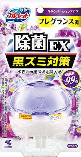 液体ブルーレットおくだけ 除菌EXフレグランス トイレタンク芳香洗浄剤 本体 リラクゼーションアロマ 70ml