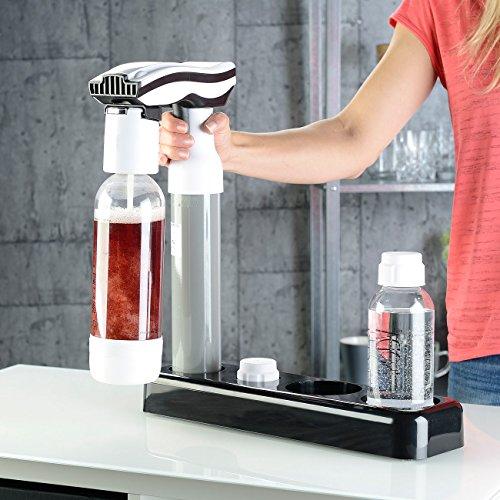 Rosenstein & Söhne Trinkwassersprudler: Getränke-Sprudler für Soda-Wasser, Softdrinks, Saft-Schorle, Limonade (Multi Getränke und Wassersprudler) - 3