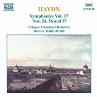 Haydn - Symphonies Nos 54,56 and 57 (1997-06-12)
