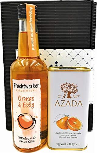 Geschenkset Orange - Fruchtwerker Essig & Azada Öl
