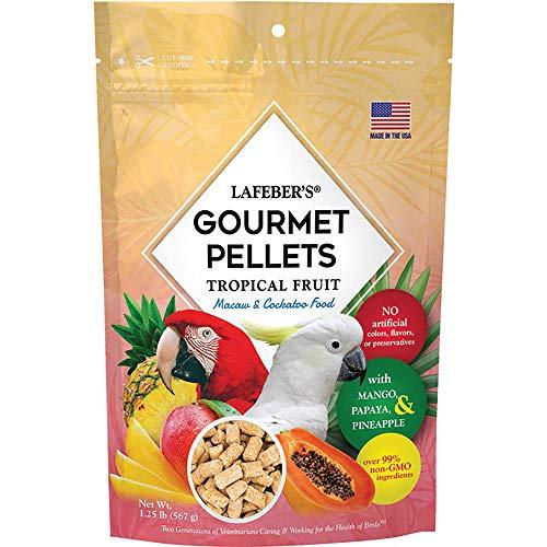 Lafeber Gourmet Pellets - Tropical Fruit - Large Parrot Macaw Cockatoo - 567g