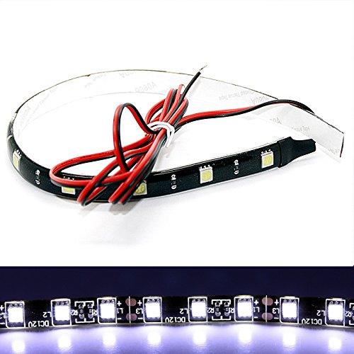 (14,99 €/m) LED Stripe – 30 cm/50 cm SMD bande autocollant 12 V 3 m intérieur Éclairage intérieur