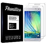 PHONILLICO [Pack de 2] Verre Trempe pour Samsung Galaxy A3 2015 SM-A300 - Film Protection Ecran...