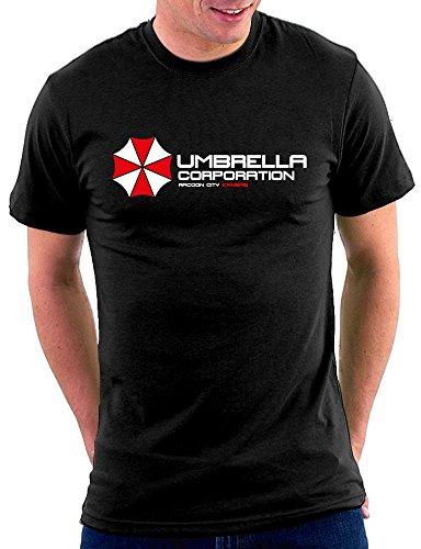 Million Nation Umbrella Resident Evil T-shirt, Größe M, Schwarz