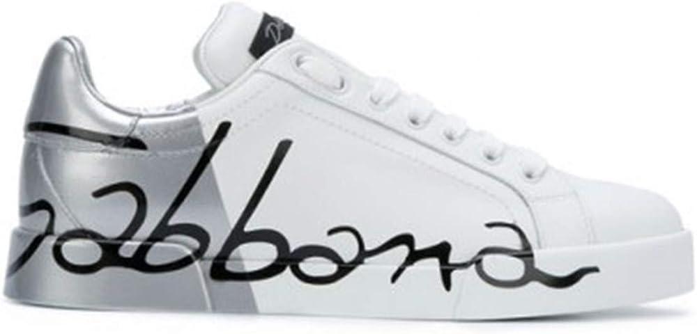 Dolce&gabbana,sneakers,scarpe basse per donna,in vera pelle 100% CK0124AI053