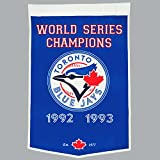 MLB Toronto Blue Jays Banner Wimpel Pennant World Series Champions Wool Blend -