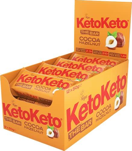 Keto Keto Barritas De Cacao Y Avellanas 600 g