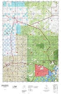 Arizona GMU 7W Hunt Area / Game Management Units (GMU) Map