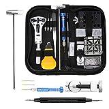 MoEvert Kit Riparazione Orologi Professionale 181 Pezzi Orologi Strumenti kit Portable Tool kit...