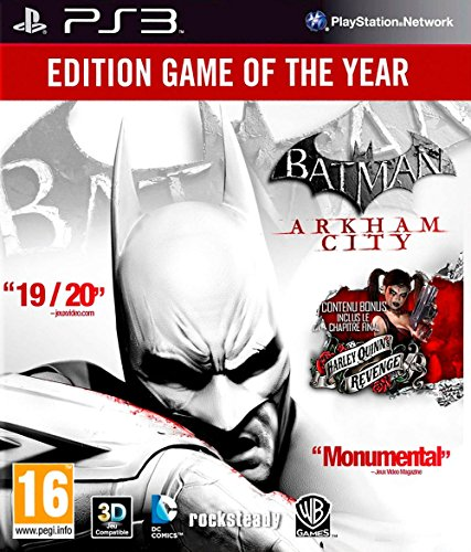 Batman Arkham City - édition jeu de l