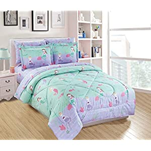 51iAoenhKcL._SS300_ Mermaid Bedding Sets & Comforter Sets