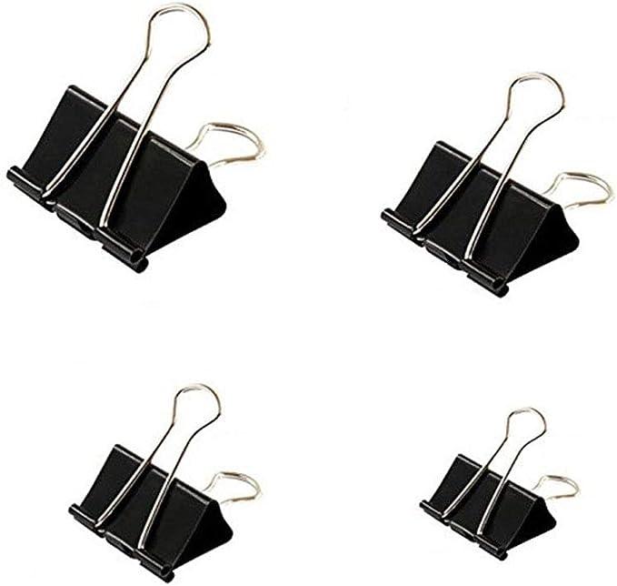 79 opinioni per Clip Metallo, Fermafogli, 100 Pack Binder Clips Mini Mollette Clip Doppio per