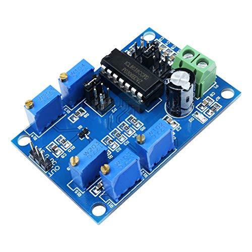 ICL8038 DDS-Signal-Generator-Modul 10 Hz-300 kHz Funktion Signalgenerator Sine/Dreieck/Quadrat Ausgang DC 12 V-25 V
