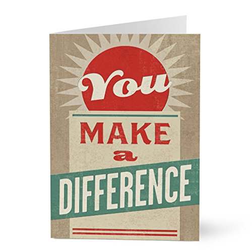 Hallmark Business Employee Appreciation Card (Make a Difference Employee Appreciation) (Pack of 25 Greeting Cards for Business)