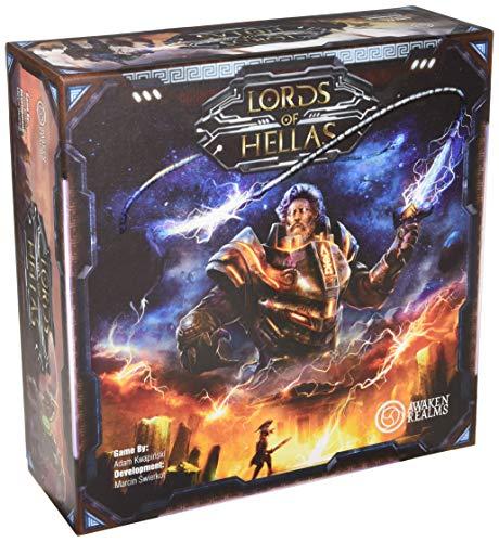 Awaken Realms ARLOH001 Lords of Hellas - Juego de mesa, multicolor ,...