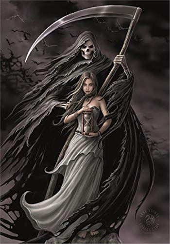 ANNE STOKES FLAGGE FAHNE SUMMON THE REAPER POSTERFLAGGE