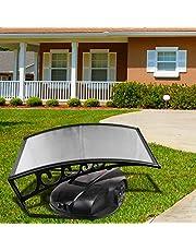 VINGO Grasmaaier Dak 103 x 51 x 7,5 cm Carport Dak Robot Grasmaaier Garage Dak Carport Geschikt voor Robotmaaiers Automower Beschermt Tegen Regen, Hagel en UV-straling