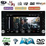 EINCAR Kapazitiver Touch Screen 6.2 Zoll-Auto-DVD-Player Android 8.1 GPS-Auto-Stereo-Radio-Player eingebaute WiFi 1080P Video GPS-Navigation 1024 * 600 HD Auflösung USB SD + Rückfahrkamera