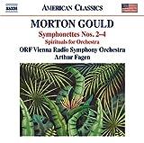Symphoniettes N 2 a N4 Spirituals pour Orchestre
