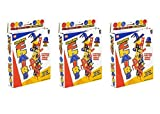 Stacking Chair Balancing Game, 3 Sets, 18 Mini Chairs in Each Set with Instruction Guides