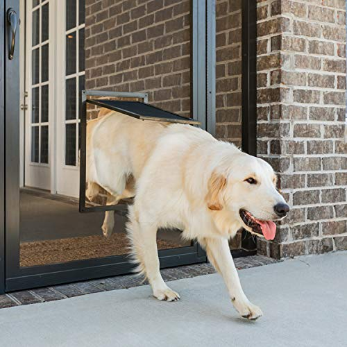 PetSafe Pet Screen Door - Dog and Cat Flap for Screen Door, Large, Window, Storm Door and Porch Use