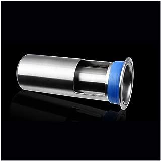 AOSQ Deodorant Shower Floor Drain Stainless Steel Round, 4.5 Inch High(2 pcs)