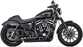 Vertidos Marmitte Shortshots & Staggered Vance Hines Negras Harley Davidson Sportster XL x 14-UP