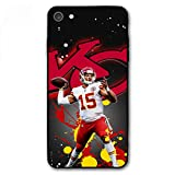ZICEN iPhone 7 Case iPhone 8 Case - American Football Design Ultra-Thin Cover Cases for iPhone 7/8 4.7' (Mahomes-Chiefs)