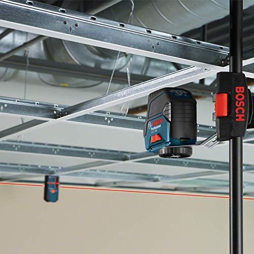 Bosch Professional 0601066G04 GCL 2-50 C + RM 3 + RC2 + 12V Batt. Pack (L-boxx 238), 12 V, Schwarz, Blau, 4 Stück