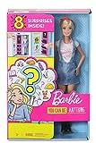 Barbie Quiero Ser, descubre la profesión, incluye muñeca y 8 accesorios para dos carreras sorpresa, ...