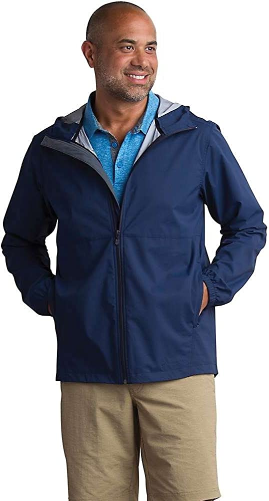 ExOfficio Men's Long Beach Mall New product Caparra Waterproof Jacket Lightweight Hooded