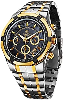 Olivera OGS706-BLACK/GOLD Watch For Men