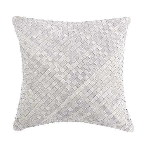 Pasargad Home Cowhide Decorative Throw Pillow, 18