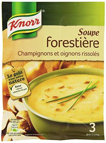 Knorr Soupe Forestière Champignons 85g Pour 3 Personnes
