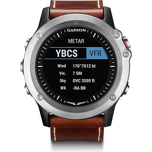 "Garmin 010 – 01338 – 30 ""D2 Bravo Aviation Watch Piloto Reloj"
