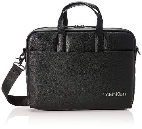 Calvin Klein Ck Direct Slim Laptop Bag - Borse organizer portatutto Uomo, Nero (Black), 0.1x0.1x0.1 cm (W x H L)