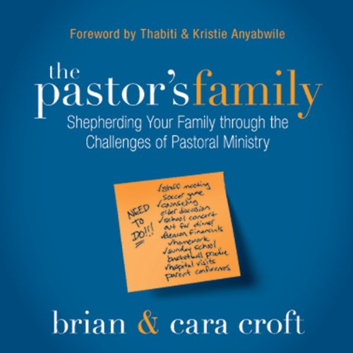 The Pastor's Family audiobook cover art