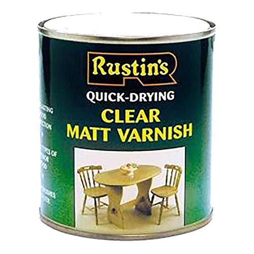 Rustins (AVMC250) - Vernis pour bois - séchage rapide - Incolore - for mat -...