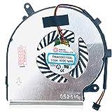 (CPU – Version 3pin) – Ventilateur de Refroidissement Compatible avec MSI GE72VR 7RF Apache Pro (MS-179B), GL62 6QF (MS-16J5),...