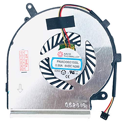 (CPU - 3pins Version) - Lüfter/Kühler Fan kompatibel mit MSI PE70-6QE, GL72 6QD (MS-1796), GE72VR 7RF Apache PRO (MS-179B), GE72 2QL (MS-1792), GE72 6QD (MS-1795)