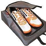 Gloryhonor Reiseaufbewahrung für Schuhe, wasserdichter durchsichtiger Taschen-Organizer mit...