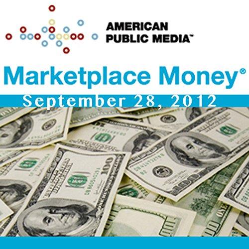 Marketplace Money, September 28, 2012 cover art