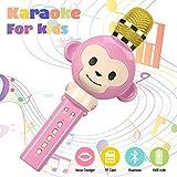 Karaoke Mikrophon, Karaoke Anlage Kinder,Bluetooth 4.2 Karaoke-Mikrofon...