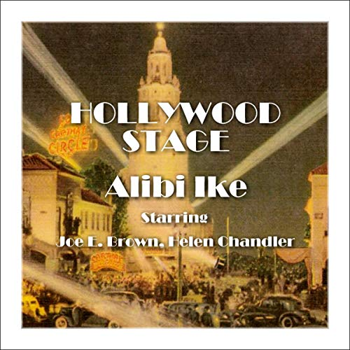 Hollywood Stage - Alibi Ike audiobook cover art