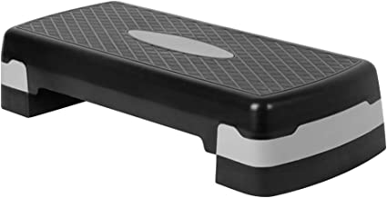 Glenmore Stepper Board Aerobic Stepper Board Voor Thuis Sport Fitness In hoogte verstelbaar Stepperboard Workout Groot (1...