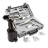 Riveteuse Pince à Rivets à air comprimé 2,4-4,8 mm Riveteuse pneumatique pour Rivets aveugles Kit