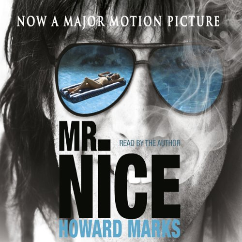 Mr Nice audiobook cover art
