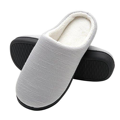 Pantofole Invernali Donna in Peluche da Casa - Scarpe Pantofole in Feltro Ultra-Morbido e...